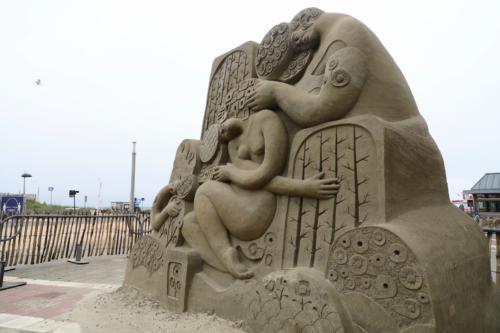 Sandskulpturen in Zandvoort